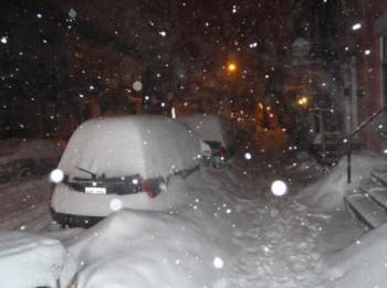 сгопад Квебек снег Нью-Браунсуик Канада