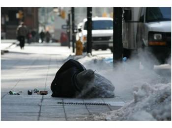 бедность сочувствие армия спасения нищии  Канада