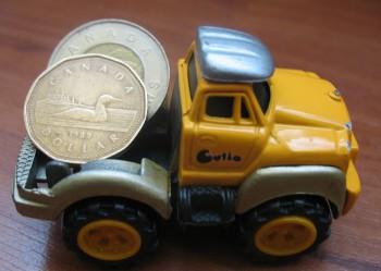 канадские монеты доллар луни туни