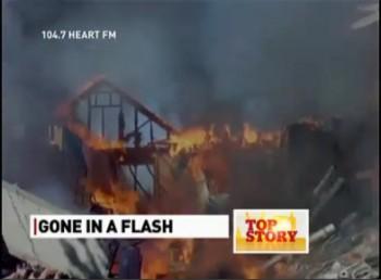 Вудсток Онтарио взрыв жилого дома пожар