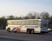 Greyhound междугородний автобус Манитоба Канада