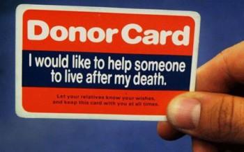 донор органов Канада