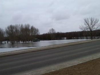 наводнение затопление Брендон Манитоба Канада