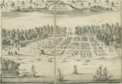 старинные карты архив Галифакс