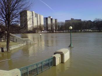 Ассинибойн река Виннипег наводнение