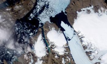 К Канаде приблизились осколки огромной льдины