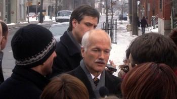 Джек Лейтон, лидер Новой Демократической партии Канады