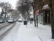 Виннипег, снег
